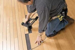 Hardwood Flooring Installed