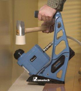 Hardwood Floor Stapler pneumatic hardwood flooring power stapler 155 gauge flex power roller nailer Hardwood Floor Installation