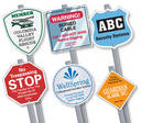 Window decals for Alarm systems and Burglar deterrents