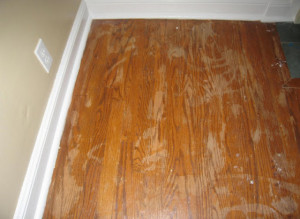 Surface-sealed floors