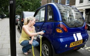 Recharging Electric Vehicles