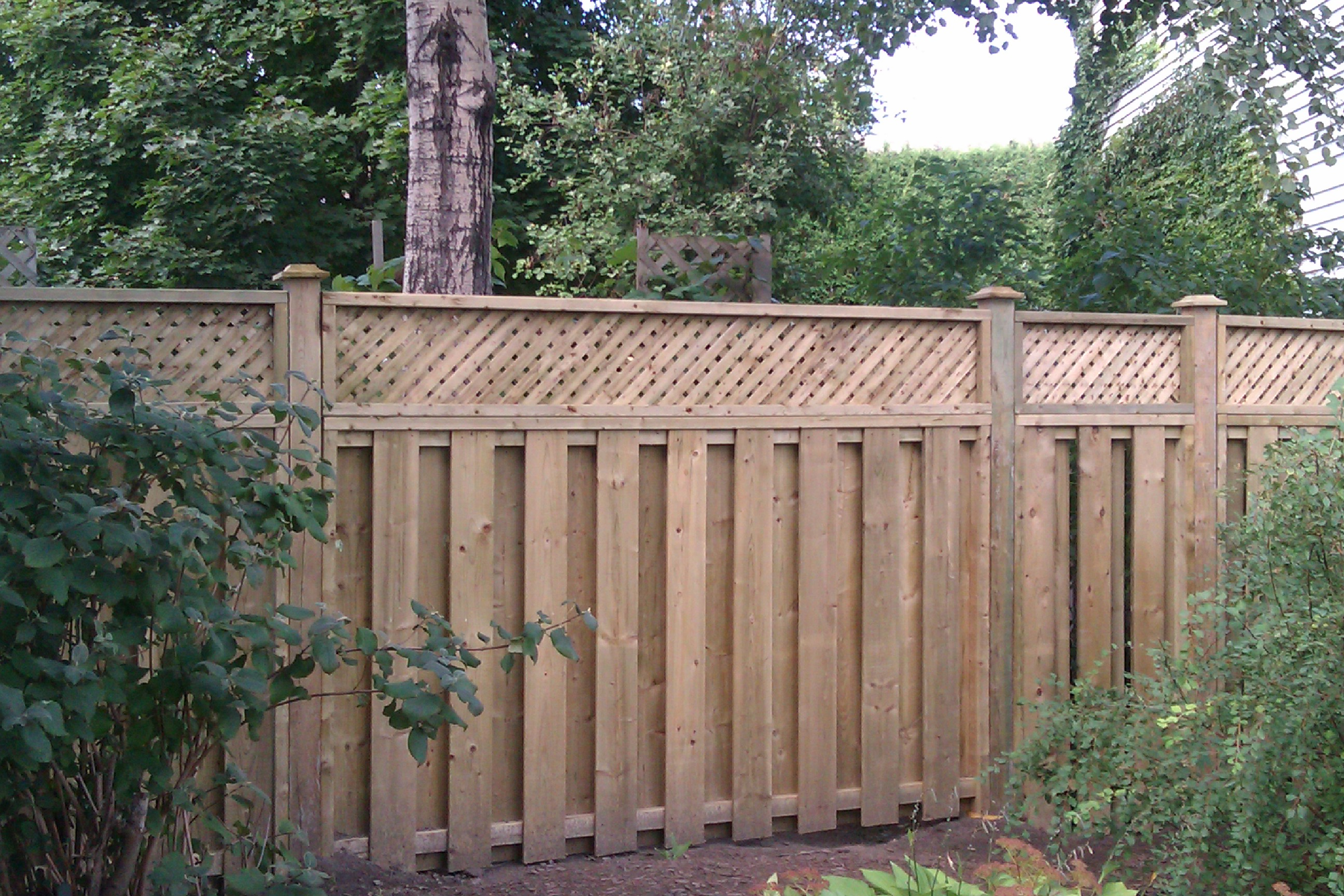 Good Neighbor Fence Plans