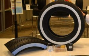 Temperature sensitive concept tire