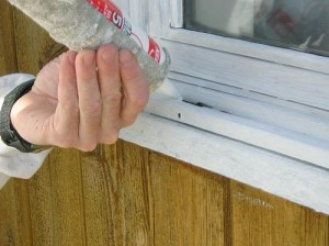 Caulk Before You Paint Window Frames