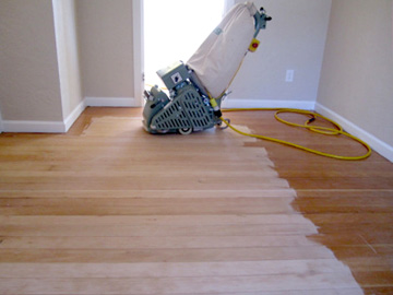 Refinish Hardwood Floors