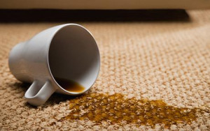 Remove Coffee Stains from a Carpet