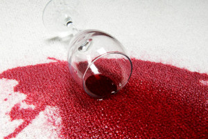 how to Remove Red Wine Stains from Carpets