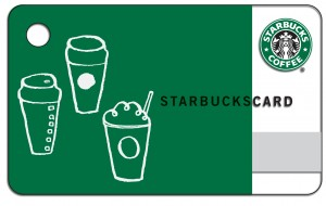 Register Starbucks Gift Cards