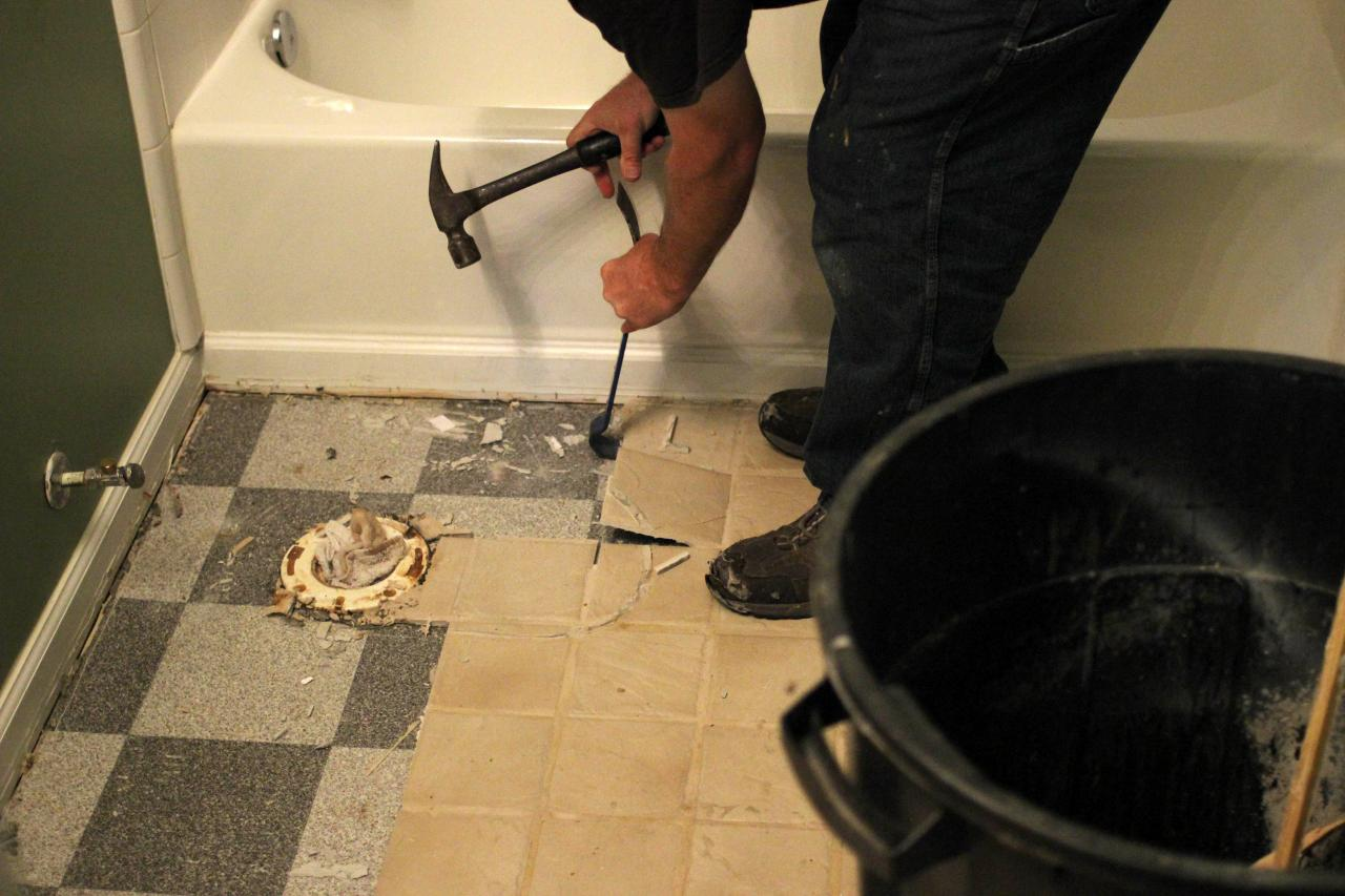 How to remove old kitchen floor ceramic tile managing home tiles have been very popular in many homes over the past several decades new owners or even current owners sometimes feel the need to change them dailygadgetfo Images