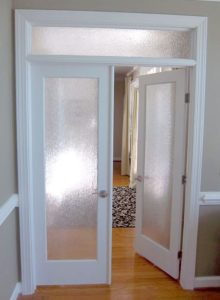 how to install french doors in existing opening